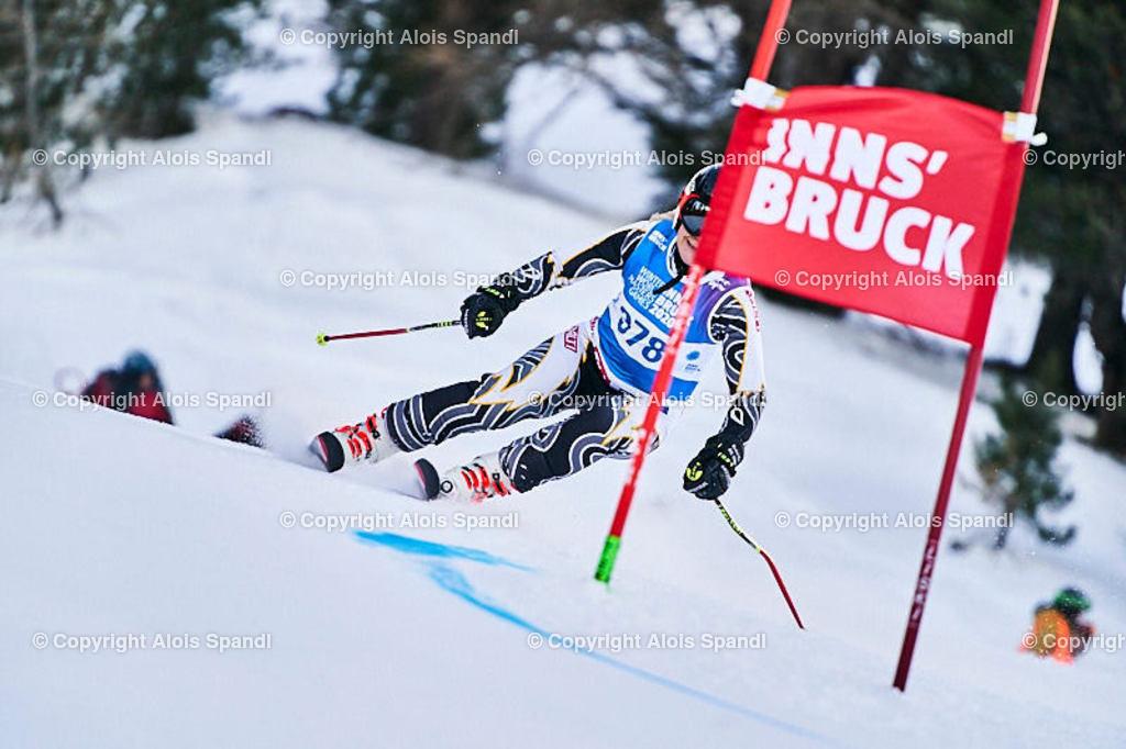 ALS5567_WWMG_GS-II_C | (C) FotoLois.com, Alois Spandl, WinterWorldMastersGames 2020 Innsbruck, Giant Slalom-II Gruppe C Damen, Patscherkofel Olympiaabfahrt, Mi 15. Jänner 2020.