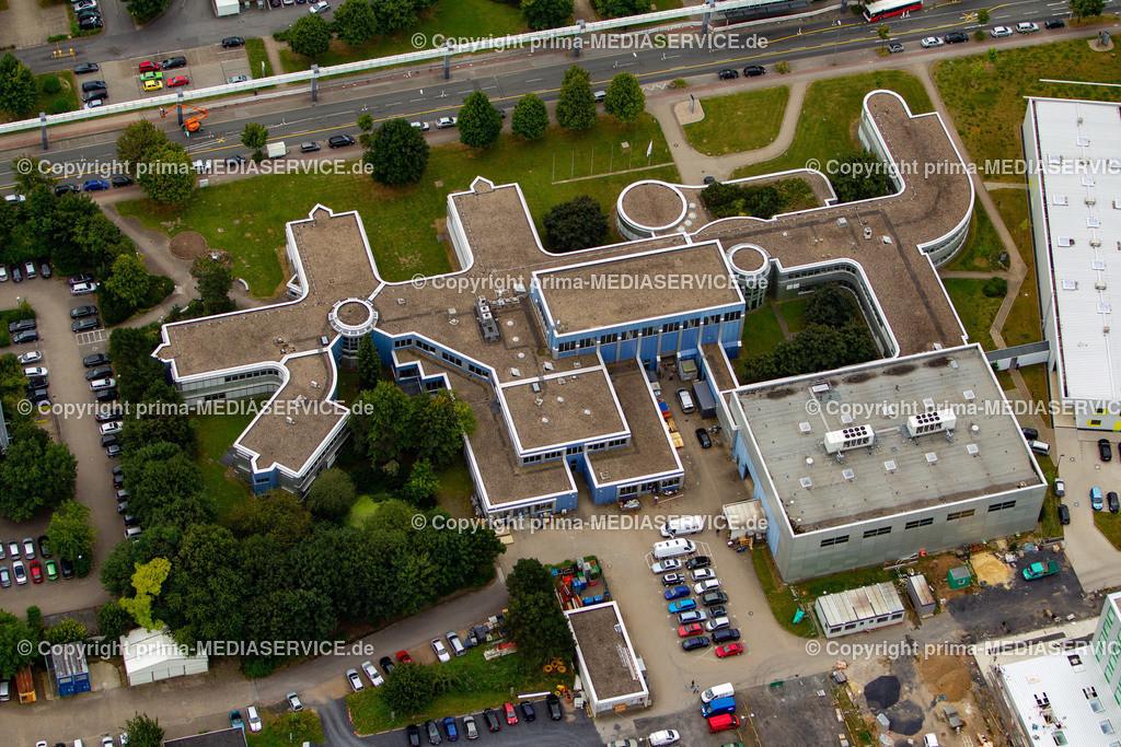 2012-08-28 Fotoflug Dortmund   Luftbildflug Dienstag, 28. August 2012 Deutschland, Nordrhein-Westfalen, Dortmund, Dorstfeld, Technologiepark, Fraunhofer IML. Foto: Michael Printz / PHOTOZEPPELIN.COM