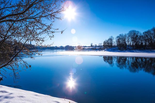 Doanu im Winter bei Straubing