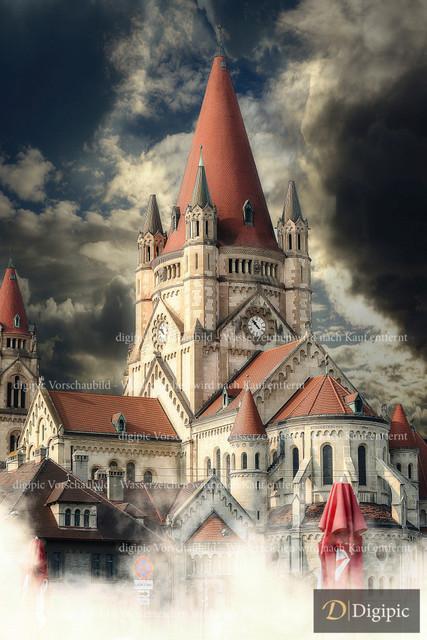 Franz von Assisi Kirche 1 -Vorschaubild | Franz von Assisi Kirche Wien Mexikoplatz
