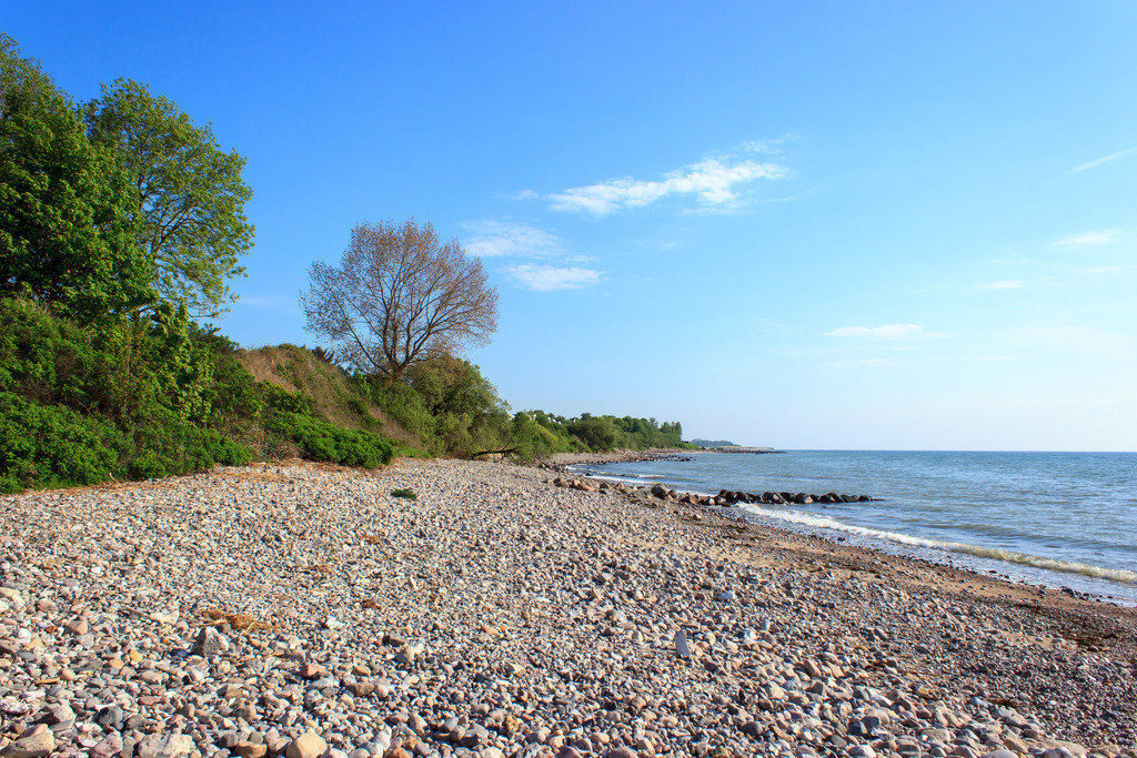Strand in Kleinwaabs | Naturstrand in Kleinwaabs