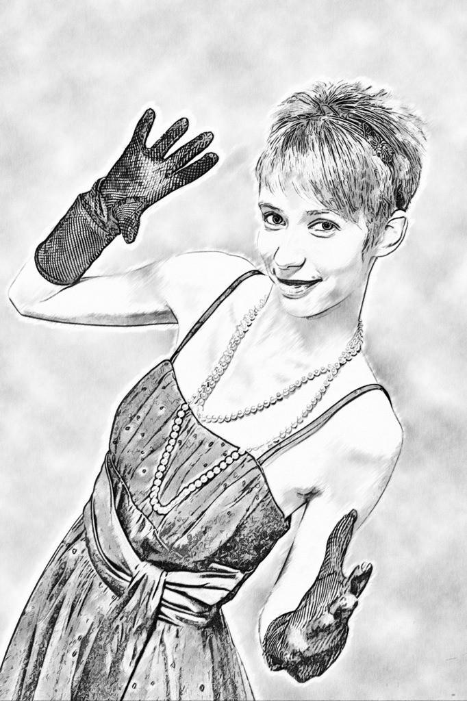 Handschuh Lady Bild 042