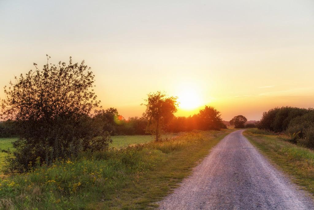 Abendstimmung im Teufelsmoor | Sonnenuntergang im Teufelsmoor