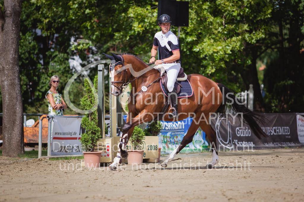200819_Delbrück_Sprpf-A_1_2-049 | Delbrück Masters 2020 Springpferdeprüfung Kl. A* 4jährige Pferde