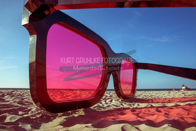 Strandmotiv, Sonnenbrille Zingst | Zingst Sonnenbrille