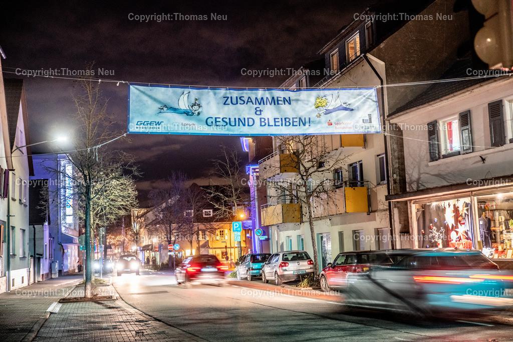 DSC_4267 | ble,Lorsch, blaues Weihnachtswunder, Innenstadt, ,, Bild: Thomas Neu