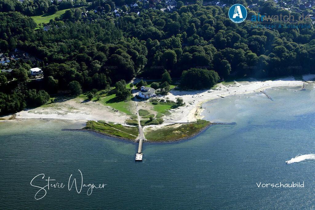 Luftbild Flensburger Foerde, Strandbad Solituede | Flensburger Foerde, Strandbad Solituede • max. 6240 x 4160 pix