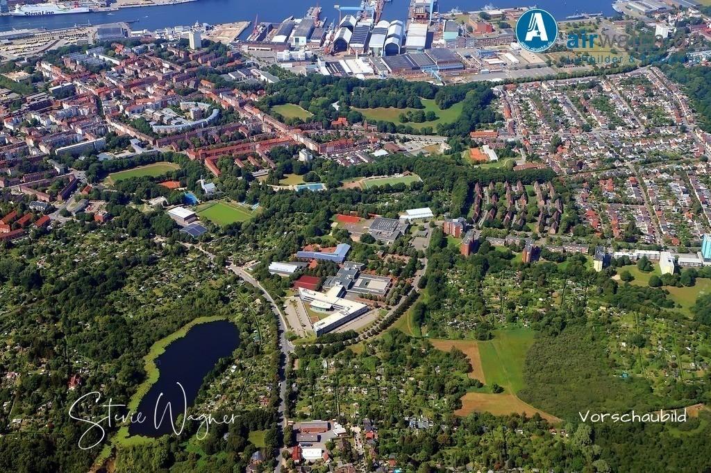 Kiel, RBZ Technik, Geschwister-Scholl-Straße, Preetzer-Str., Kleingartenverein Kiel-Ost | Kiel, RBZ Technik, Geschwister-Scholl-Straße, Preetzer-Str., Kleingartenverein Kiel-Ost