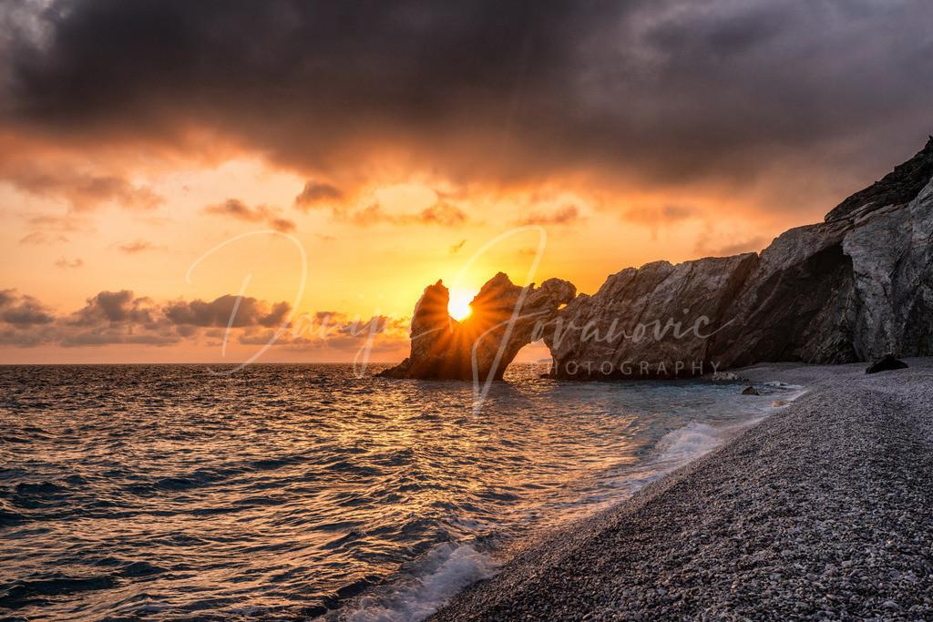 Lalaria Sunrise | Sonnenaufgang auf Lalaria, Skiathos