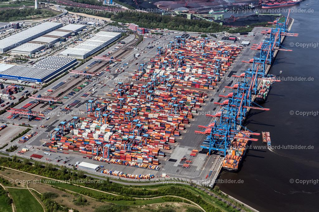 Hamburg Altenwerder_CTA HHLA_ELS_3746110517 | Hamburg - Aufnahmedatum: 11.05.2017, Aufnahmehöhe: 547 m, Koordinaten: N53°29.303' - E9°56.530', Bildgröße: 6757 x  4509 Pixel - Copyright 2017 by Martin Elsen, Kontakt: Tel.: +49 157 74581206, E-Mail: info@schoenes-foto.de  Schlagwörter:Altenwerder,HHLA,CTA,Container Terminal,Container,Automatisiert,Luftbild, Luftbilder,