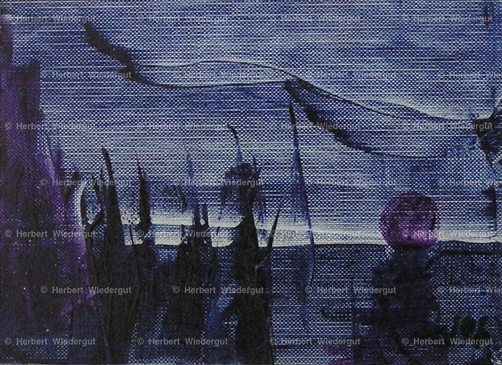 hunters evening   Ölgemälde von Dr. Herbert Wiedergut