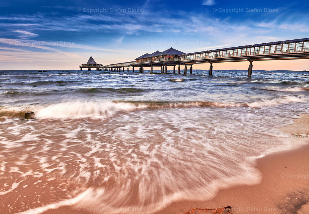 pier of Heringsdorf on isle of Usedom | pier of Heringsdorf on isle of Usedom