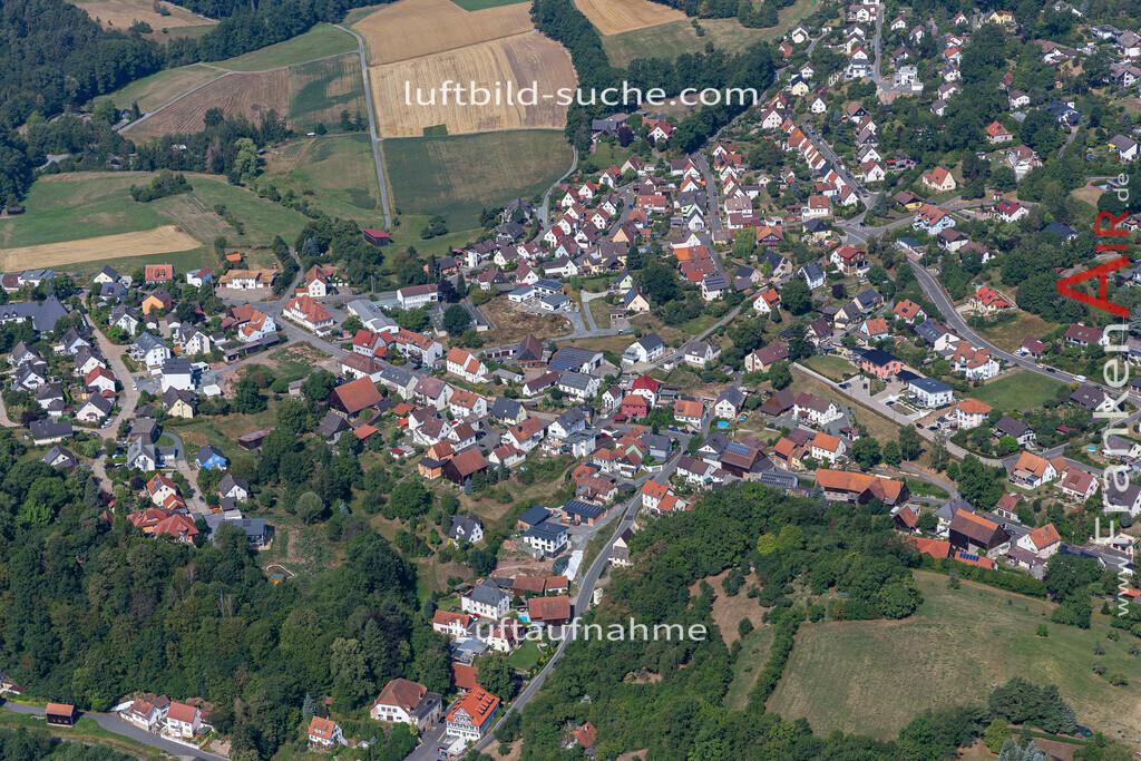 burghaig-19-530   aktuelles Luftbild von Burghaig   - Luftaufnahme wurde 2019 von https://frankenair.de mittels Flugzeug (keine Drohne) erstellt.