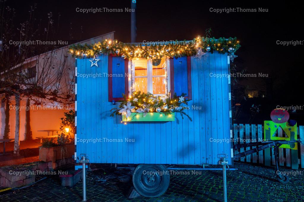 DSC_4008   ble,Lorsch, blaues Weihnachtswunder, Innenstadt, ,, Bild: Thomas Neu