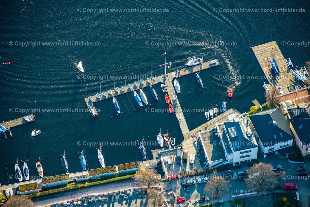Hamburg_Uhlenhorst_Segelhafen_ELS_5020200421 | HAMBURG 20.04.2021 Sportboot- Anlegestellen und Bootsliegeplätzen des