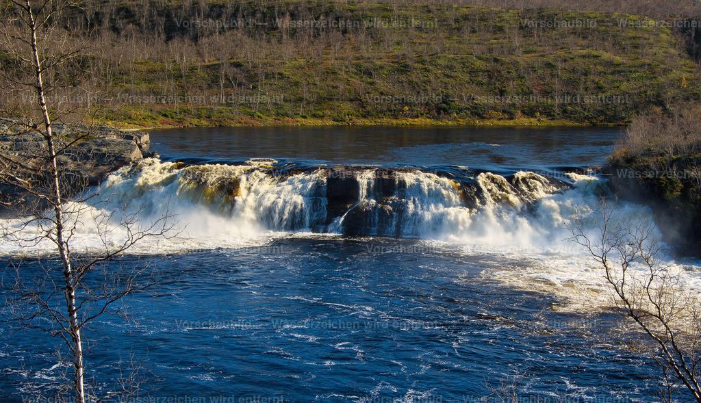 Fluss in der Finnmarksvidda