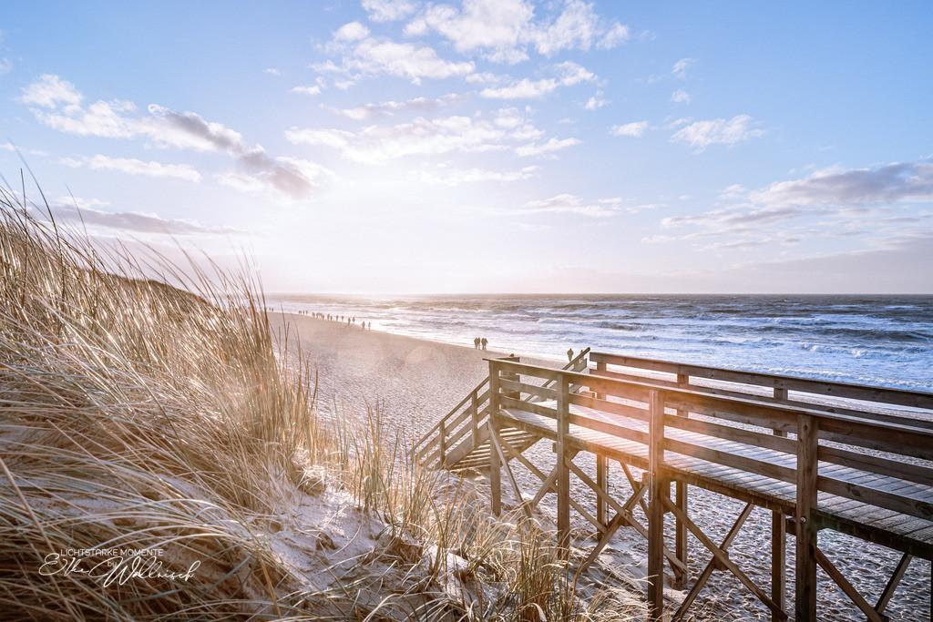 Neujahrslicht | Strandübergang Wenningstedt, Sylt