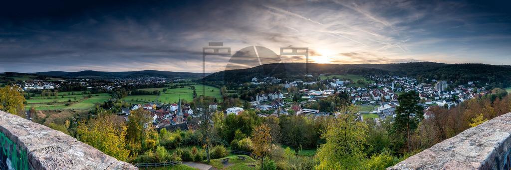 Panorama BSS   Keine Luftaufnahme sondern klassisch fotografiert
