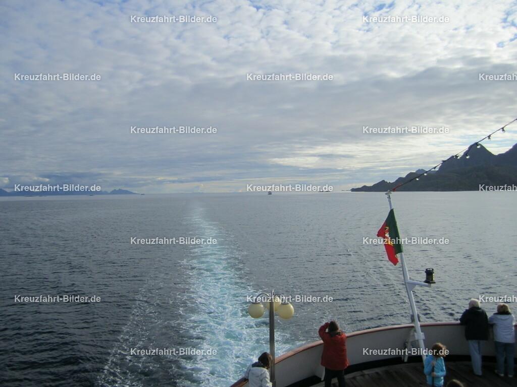 Norwegens Norden | Aufgenommen in Richtung Nordkapp von der MS Azores.