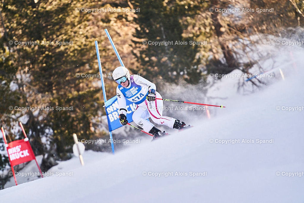 ALS6058_WWMG_GS-II_C | (C) FotoLois.com, Alois Spandl, WinterWorldMastersGames 2020 Innsbruck, Giant Slalom-II Gruppe C Damen, Patscherkofel Olympiaabfahrt, Mi 15. Jänner 2020.