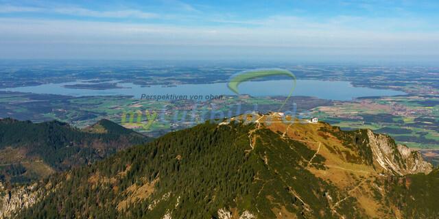 luftbild-hochfelln-bruno-kapeller-01 | Luftaufnahme vom Hochfelln 1674m