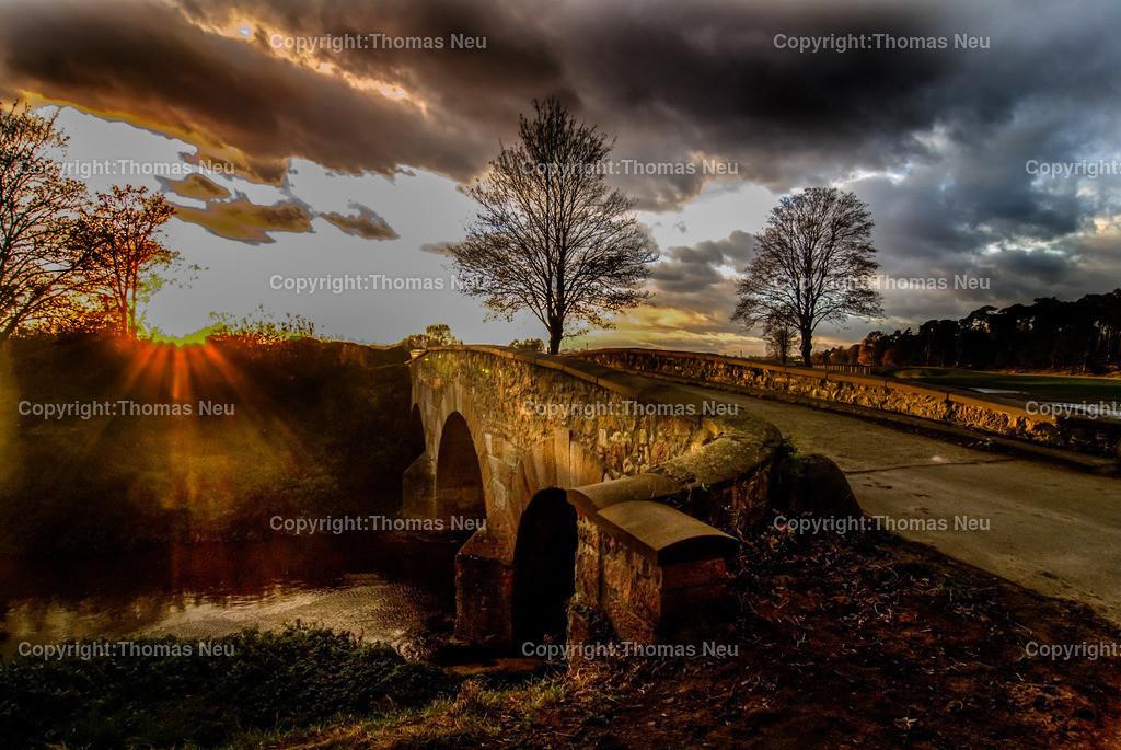 Lorsch_Wattenheimer Brücke im Abendlicht | Lorsch, Wattenheimer Brücke, ,, Bild: Thomas Neu