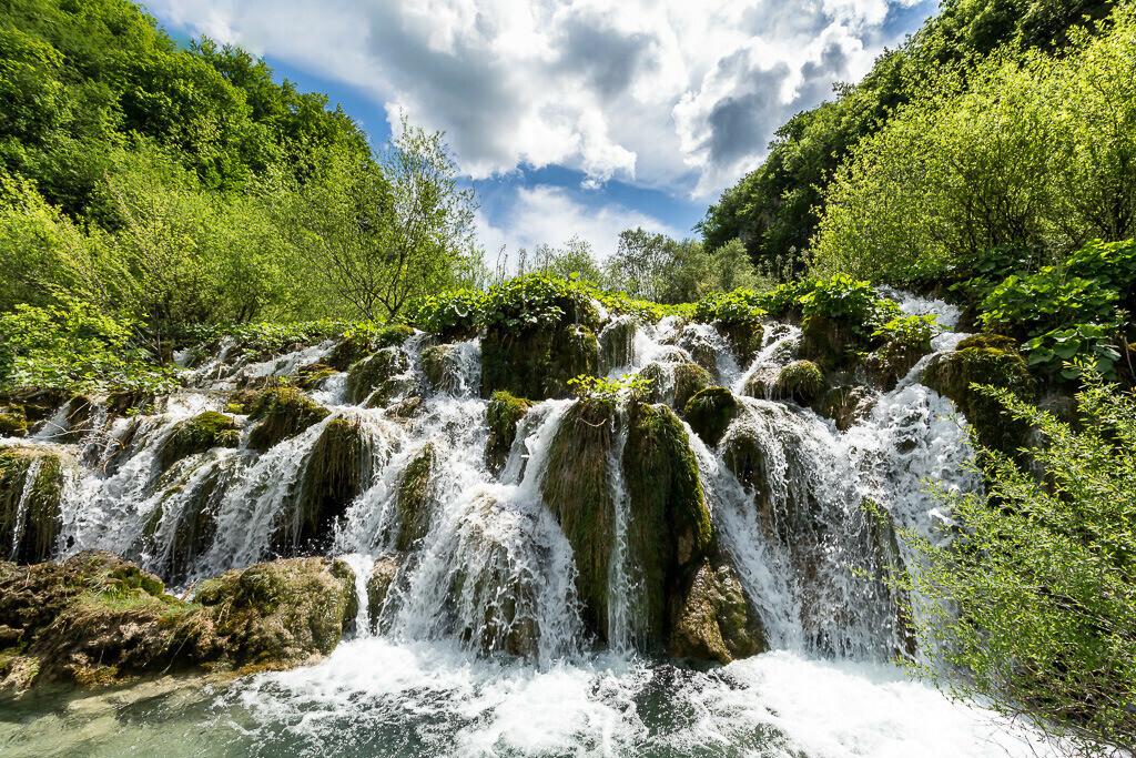 Wasserkaskade Plitvicer Seen