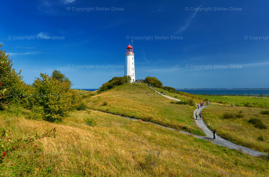 famous white lighthouse tourism sight close to Kloster | famous white lighthouse tourism sight close to Kloster