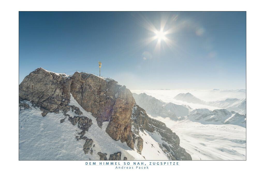 Dem Himmel so nah, Zugspitze | Die Serie 'Deutschlands Landschaften' zeigt die schönsten und wildesten deutschen Landschaften.