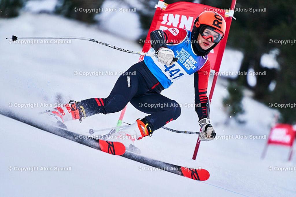 ALS5884_WWMG_GS-II_C | (C) FotoLois.com, Alois Spandl, WinterWorldMastersGames 2020 Innsbruck, Giant Slalom-II Gruppe C Damen, Patscherkofel Olympiaabfahrt, Mi 15. Jänner 2020.