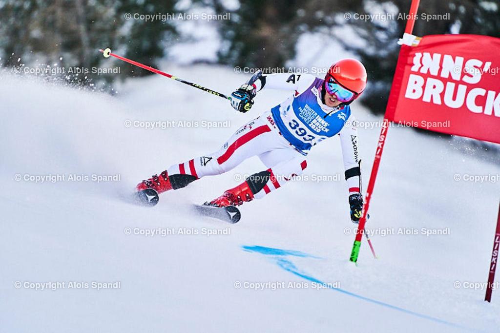 ALS5637_WWMG_GS-II_C | (C) FotoLois.com, Alois Spandl, WinterWorldMastersGames 2020 Innsbruck, Giant Slalom-II Gruppe C Damen, Patscherkofel Olympiaabfahrt, Mi 15. Jänner 2020.