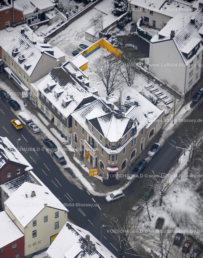 KT10011110 | Schnee,  Kettwig, Essen, Ruhrgebiet, Nordrhein-Westfalen, Deutschland, Europa, Foto: Luftbild Hans Blossey, Copyright: hans@blossey.eu, 06.01.2010, E 006° 57' 03.78