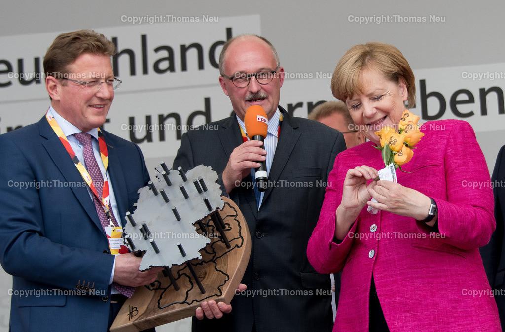 DSC_8011 | Heppenheim, Wahlveranstaltung, CDU, Angela Merkel auf dem parkhof, ,, Bild: Thomas Neu