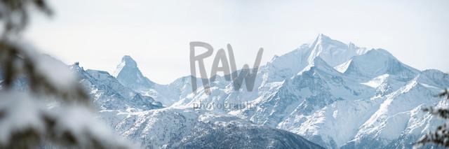 Panorama Matterhorn / Weisshorn
