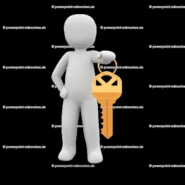 man holding a golden key (2) | https://3dman.eu jetzt 250 Bilder gratis sichern