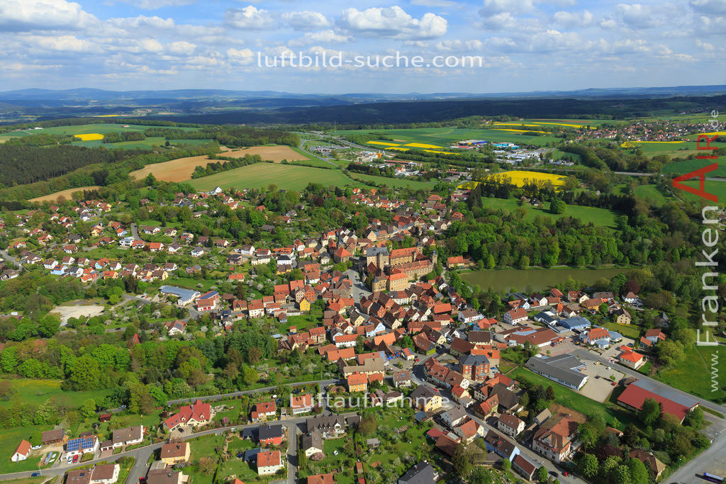 thurnau-2015-147 | Luftbild von  Thurnau - Luftaufnahme wurde 2015 von https://frankenair.de mittels Flugzeug (keine Drohne) erstellt - die Geschenkidee