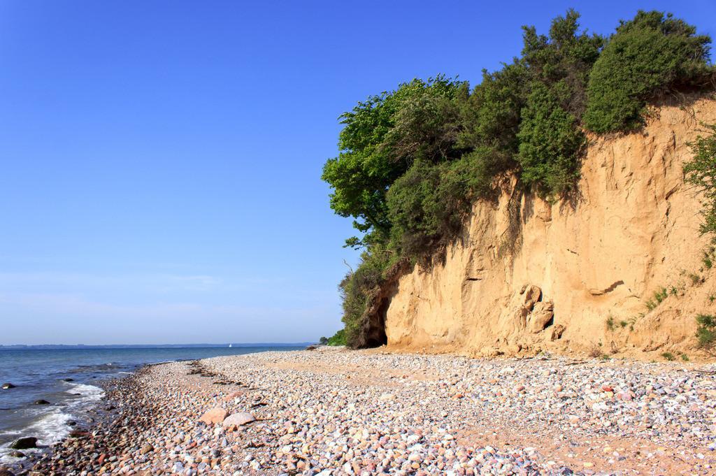 Steilküste in Klein Waabs | Steilküste in Klein Waabs