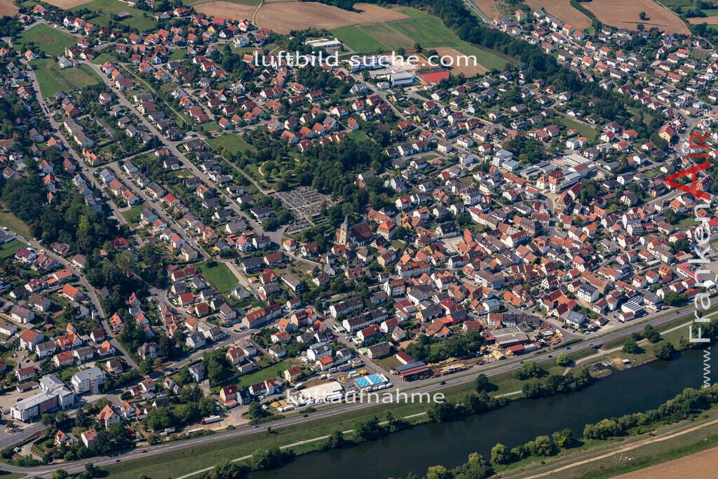 bischberg-19-299 | aktuelles Luftbild von  Bischberg - Luftaufnahme wurde 2019 von https://frankenair.de mittels Flugzeug (keine Drohne) erstellt.