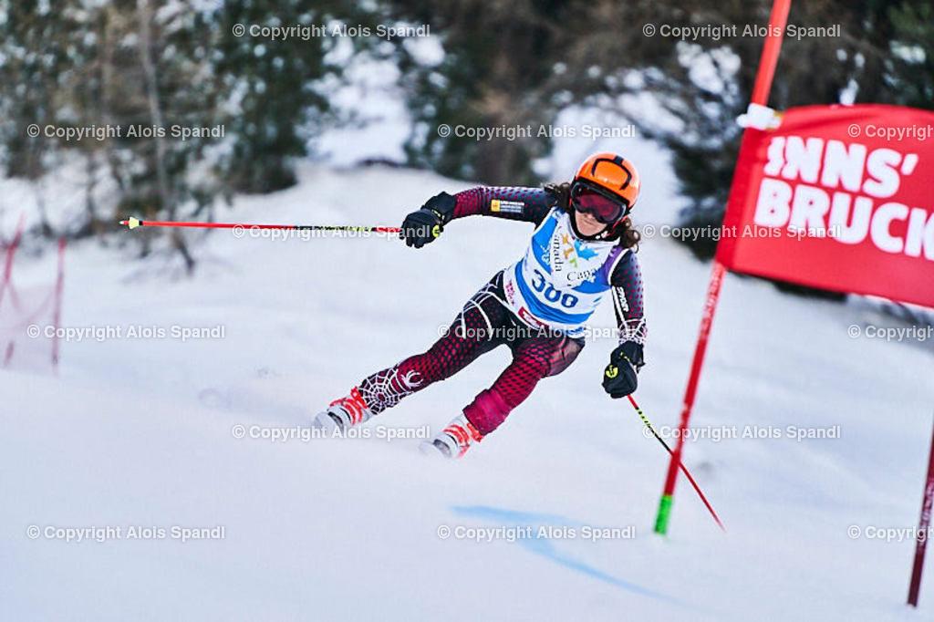 ALS5581_WWMG_GS-II_C   (C) FotoLois.com, Alois Spandl, WinterWorldMastersGames 2020 Innsbruck, Giant Slalom-II Gruppe C Damen, Patscherkofel Olympiaabfahrt, Mi 15. Jänner 2020.