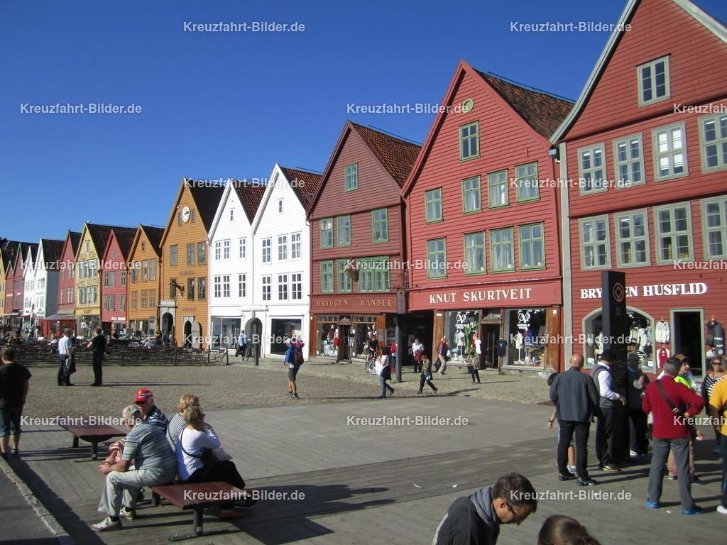Tyske Brygge in Bergen | Die Tyske Brygge in Bergen