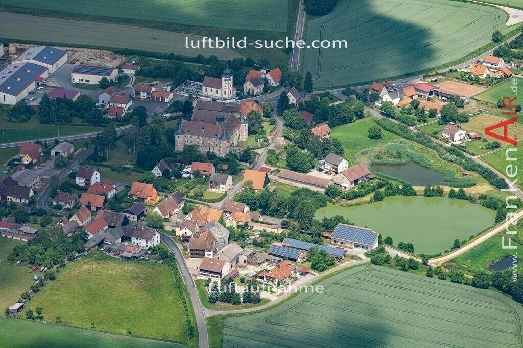 breitenlohe-19-868   aktuelles Luftbild von  Breitenlohe  - Luftaufnahme wurde 2019 von https://frankenair.de mittels Flugzeug (keine Drohne) erstellt.