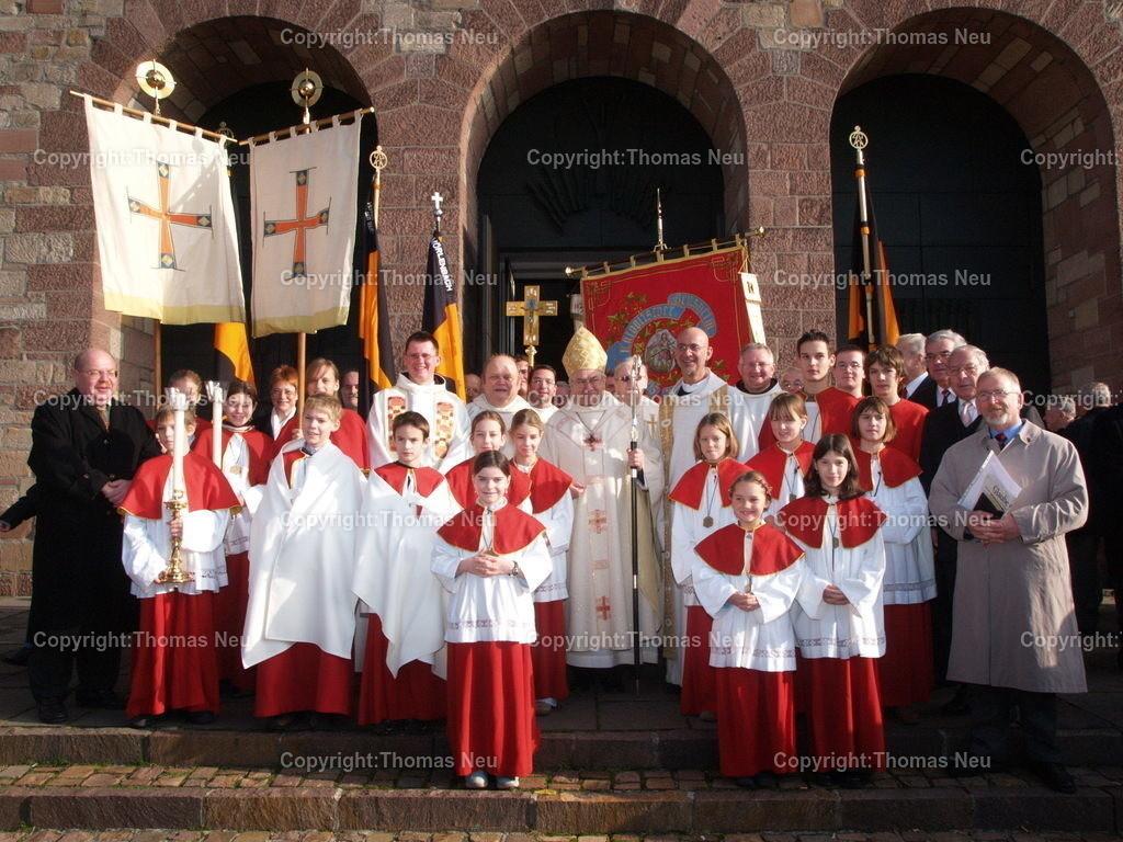 Pontifikalamt_Bischof Lehmann_140 Jahre Kolpingfamilie