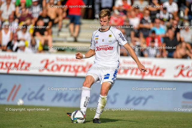 AUT, Admiral Bundesliga, LASK Linz vs SK Sturm Graz | 15.08.2021, Raiffeisen Arena Pasching, AUT, Admiral Bundesliga, LASK Linz vs SK Sturm Graz, im Bild Philipp Wiesinger (Lask)