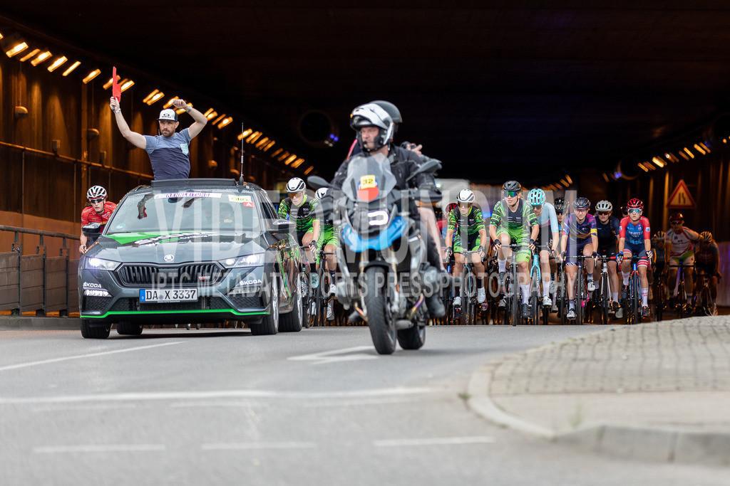 Stuttgart, Germany - June 19, 2021: Deutsche Straßenradmeisterschaften 2021, Straßenrennen, Frauen   Stuttgart, Germany - June 19, 2021: Deutsche Straßenradmeisterschaften 2021, Straßenrennen, Frauen, Photo: videomundum