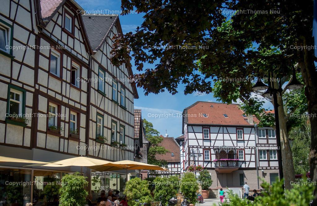 Fussgängerzone | Bensheim,Innenstadt, Fussgaengerzone, Hauptstrasse, Schmuckbild,, Bild: Thomas Neu