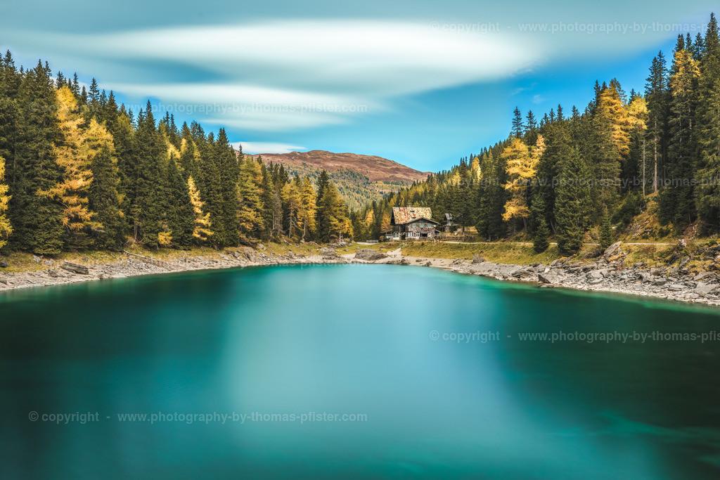 Obernberger See Brenner Herbst