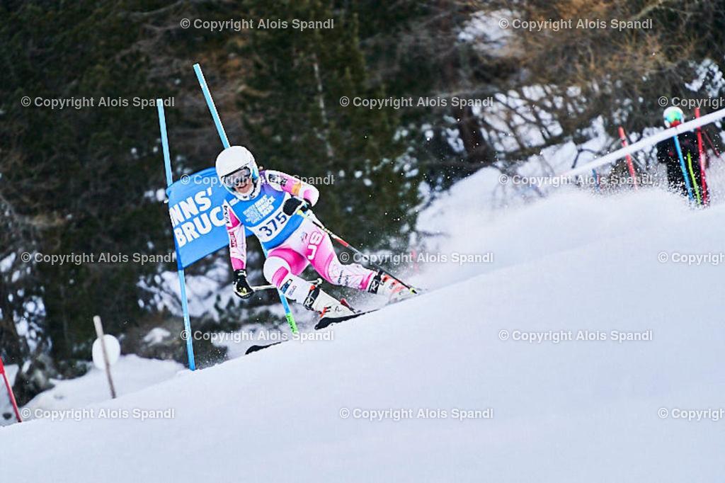 ALS5539_WWMG_GS-II_C | (C) FotoLois.com, Alois Spandl, WinterWorldMastersGames 2020 Innsbruck, Giant Slalom-II Gruppe C Damen, Patscherkofel Olympiaabfahrt, Mi 15. Jänner 2020.
