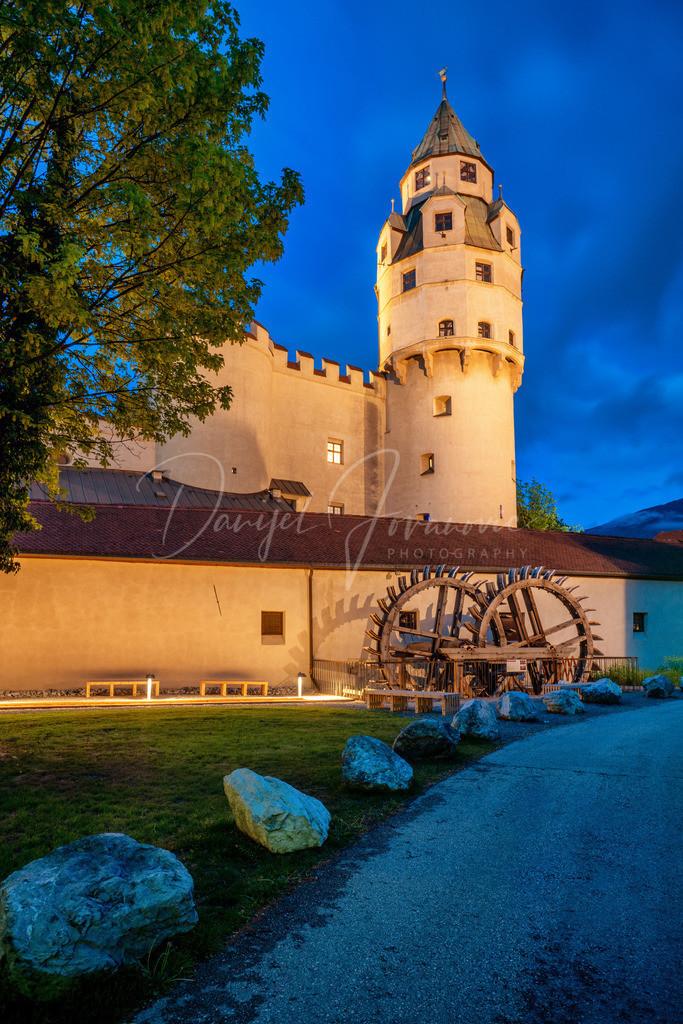 Münzturm | Der Haller Münzturm in der Burg Hasegg