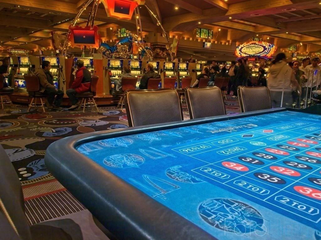 Spieltisch | Spieltisch im Casino Excalibur