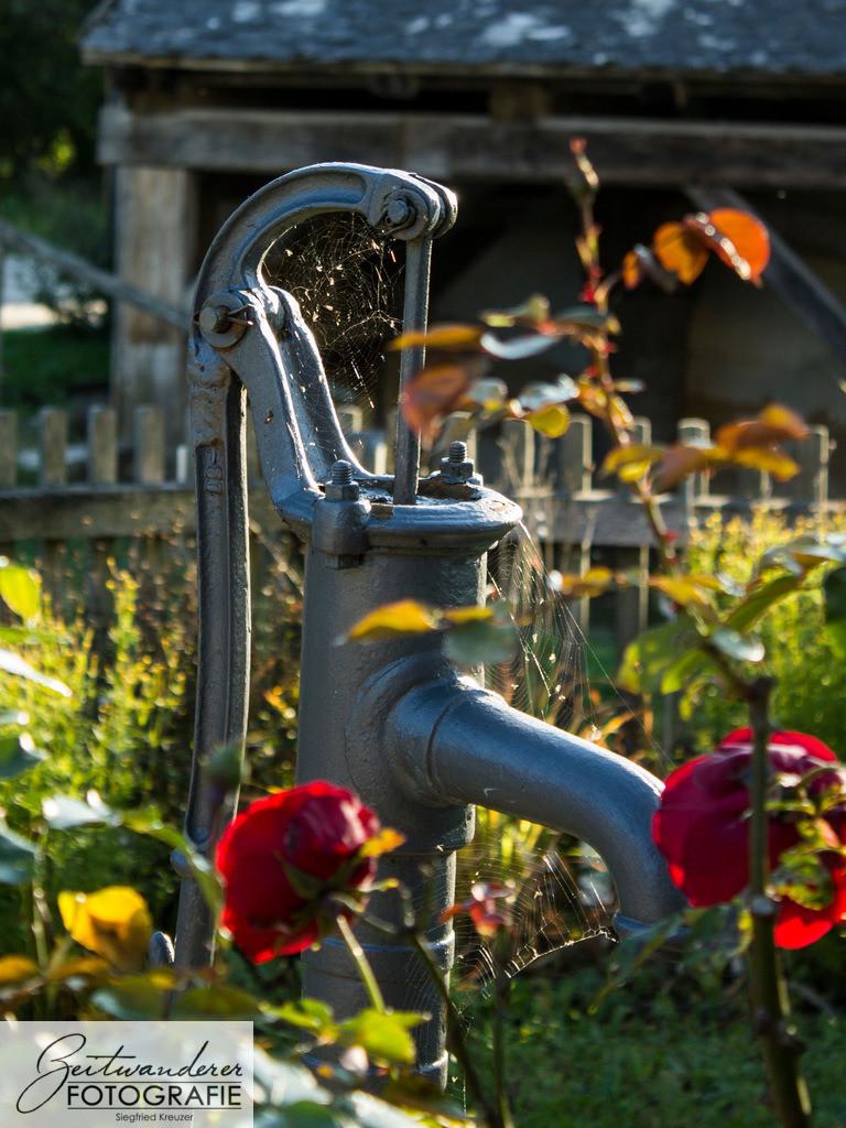 Der alte Wasserhahn